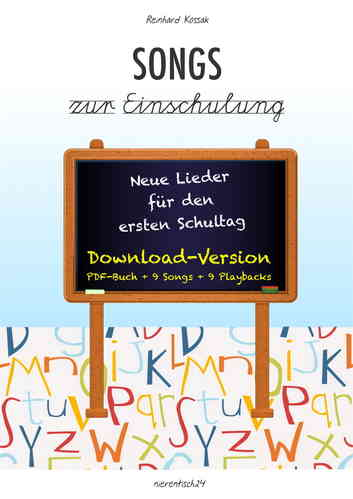 Songs zur Einschulung - DOWNLOAD-PAKET