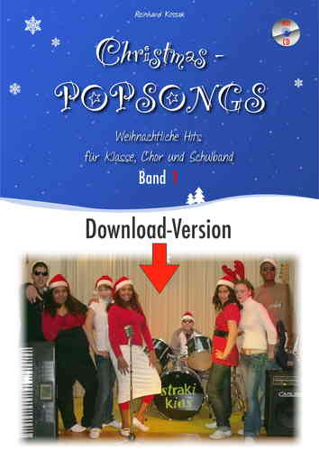 Christmas-Popsongs 1 - DOWNLOAD-PAKET